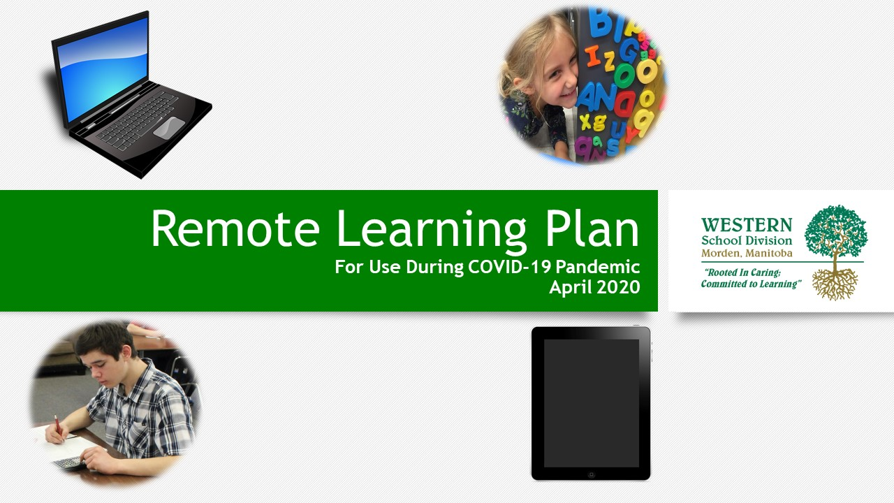 Our Updated Remote Learning Plan is now online