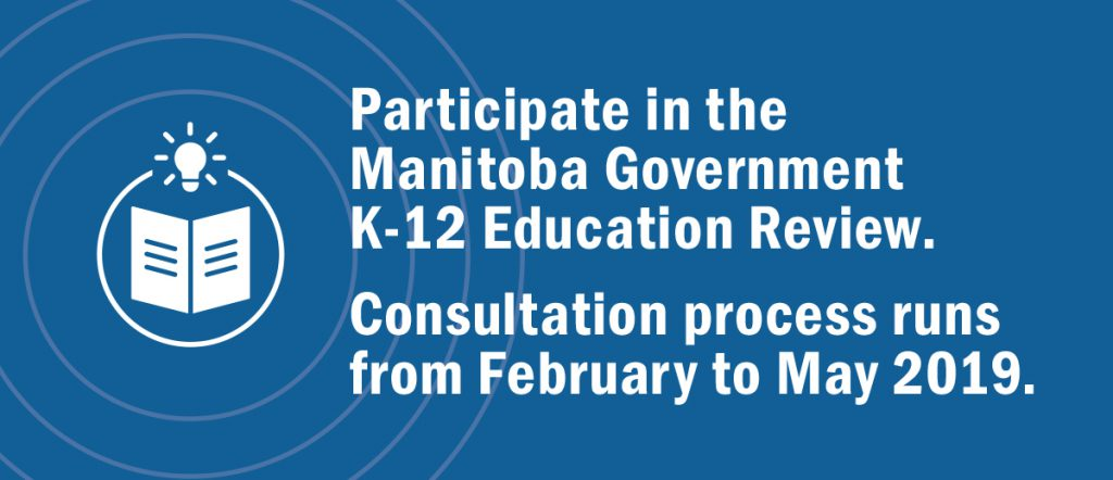 Manitoba Education Review Update